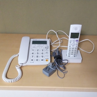 SHARP - 固定電話機(親機+子機)