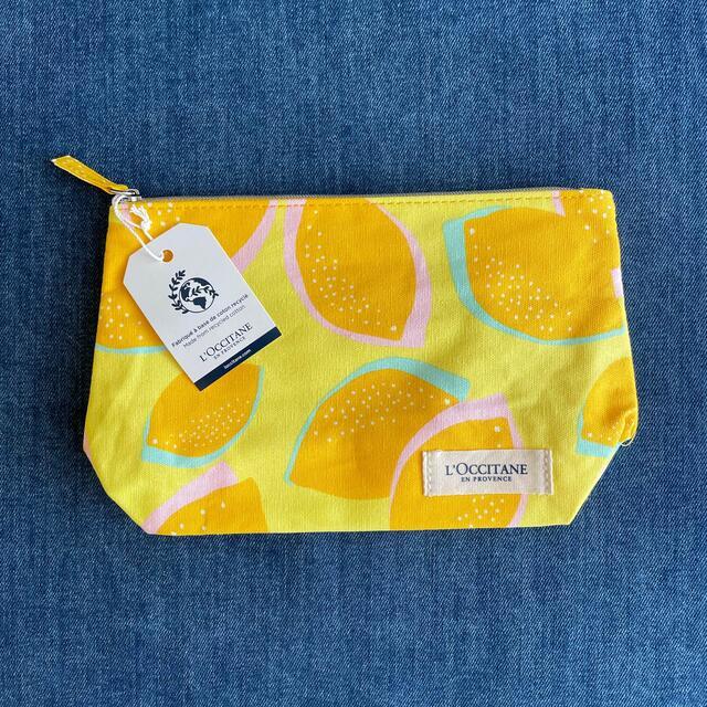 L'OCCITANE(ロクシタン)のロクシタン シトラスヴァーベナポーチ レディースのファッション小物(ポーチ)の商品写真