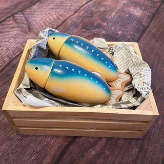 木製おままごと 木製おもちゃ 魚1匹