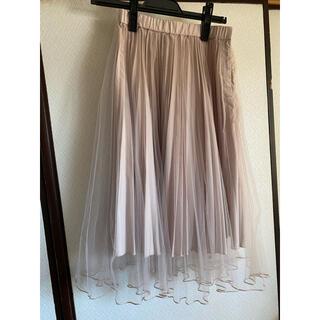 ココディール(COCO DEAL)のCOCO DEAL チュールスカート(ひざ丈スカート)