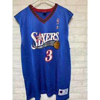 Champion - セットアップ NBA ユニフォーム アレン・アイバーソン 76ers