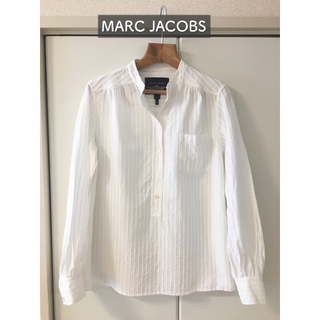 マークジェイコブス(MARC JACOBS)のMARC JACOBS 白シャツ ブラウス(シャツ/ブラウス(長袖/七分))