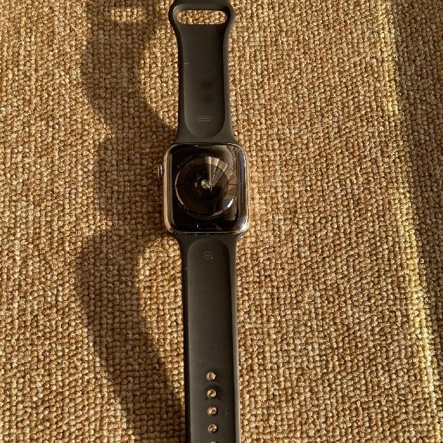 Apple Watch(アップルウォッチ)の早い者勝ち!値下げ!アップルウォッチ4 44mm ステンレス セルラー メンズの時計(腕時計(デジタル))の商品写真