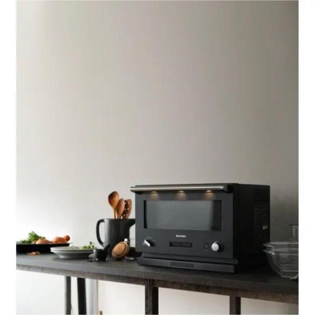 BALMUDA(バルミューダ)のバルミューダ オーブンレンジ ブラック スマホ/家電/カメラの調理家電(電子レンジ)の商品写真