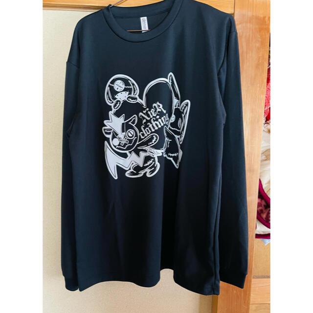 NieR  ブラックカットソー 長袖 メンズのトップス(Tシャツ/カットソー(七分/長袖))の商品写真
