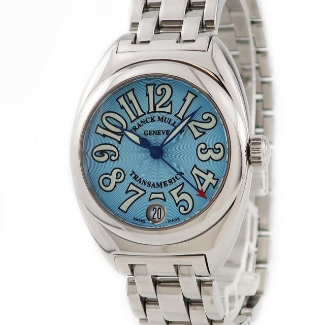FRANCK MULLER(フランクミュラー)のフランクミュラー  トランスアメリカ  2000L クオーツ レディース レディースのファッション小物(腕時計)の商品写真