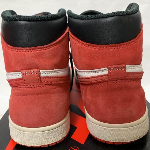NIKE(ナイキ)のAIR JORDAN 1 RETRO HIGH OG TrackRed メンズの靴/シューズ(スニーカー)の商品写真