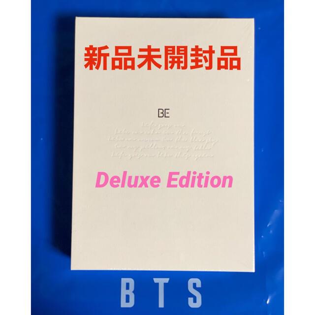 防弾少年団(BTS)(ボウダンショウネンダン)のBTS アルバム BE (Deluxe Edition) 新品未開封ダイナマイト エンタメ/ホビーのCD(K-POP/アジア)の商品写真