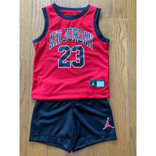 ナイキ(NIKE)の【新品未使用】 Nike Jordan 2〜3歳用 ジョーダンセットアップ 赤黒(その他)