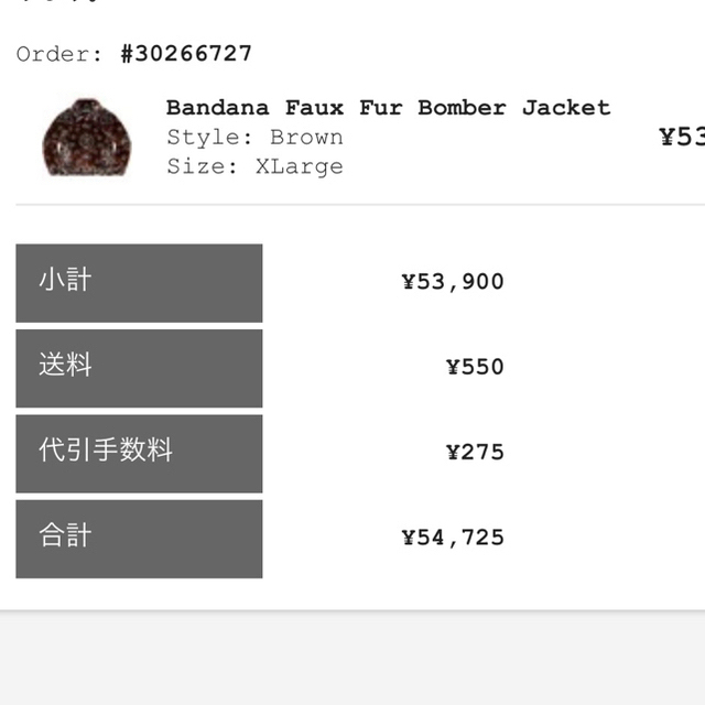 Supreme(シュプリーム)のsupreme Bandana Faux Fur BomberJacket XL メンズのジャケット/アウター(ブルゾン)の商品写真
