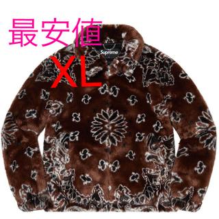 Supreme - supreme Bandana Faux Fur BomberJacket XL