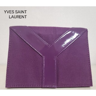Saint Laurent - イヴ・サンローラン 収納 ポーチ パープル