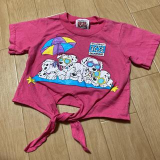Disney - ディズニー 101匹わんちゃん Tシャツ キッズ 3T ヴィンテージ ピンク