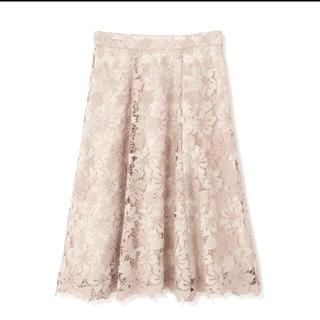 PROPORTION BODY DRESSING - タグ付き新品未使用 ケミカルレースフラワーフレアスカート