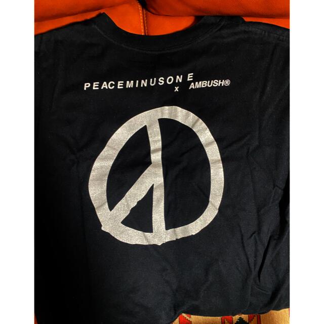 PEACEMINUSONE(ピースマイナスワン)の希少 peaceminusone ambush コラボ Tシャツ メンズのトップス(Tシャツ/カットソー(半袖/袖なし))の商品写真
