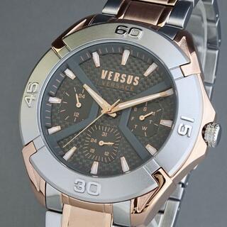 ヴェルサーチ(VERSACE)の【新品即納】ヴェルサス ヴェルサーチ 高級 メンズ腕時計 クロノグラフ 正規品(腕時計(アナログ))