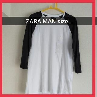 ZARA - 【新品未使用】 ZARA MAN メンズ Tシャツ sizeL