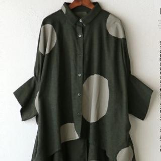 カワイイ(cawaii)のcawaii「 otona」変形袖可愛いシャツ  (フリマ )(シャツ/ブラウス(長袖/七分))