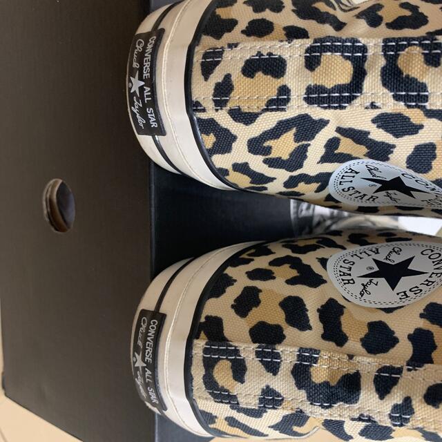 WACKO MARIA(ワコマリア)のキムタク着 WACKO MARIA CONVERSE レオパード  メンズの靴/シューズ(スニーカー)の商品写真