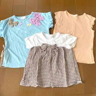 サンカンシオン(3can4on)の110cm トップス Tシャツ まとめ売り(Tシャツ/カットソー)