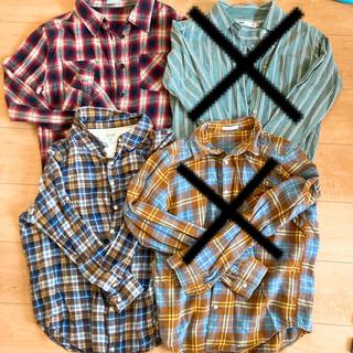 ジーユー(GU)の【専用】ネルシャツ 2枚 GU  shuca  SEVENDAYS SUNDAY(衣装)