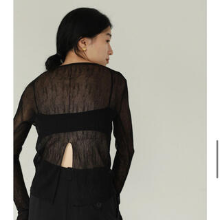 TODAYFUL - todayful シアートップス BLACK