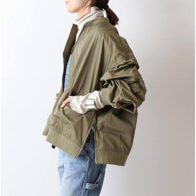 FRAMeWORK(フレームワーク)のFRAMeWORK LIMONTA ZIP ブルゾン レディースのジャケット/アウター(ブルゾン)の商品写真