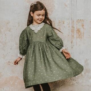 Caramel baby&child  - 美品 90 Bebe Organic ワンピース ドレス