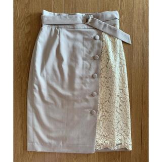 PROPORTION BODY DRESSING - プロポーション レース台形スカート