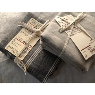 MUJI (無印良品) - 無印 枕カバー 2枚 麻100%