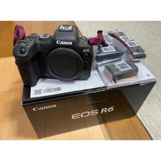 Canon - キヤノン EOS R6 ボディ 本体 新品 メーカー1年保証あり