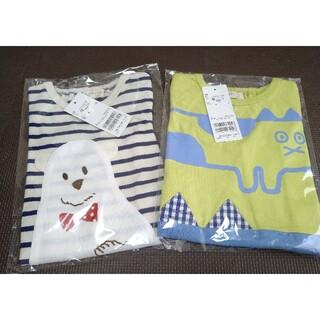 ナルミヤ インターナショナル(NARUMIYA INTERNATIONAL)のbabycheer  Tシャツ 2枚セット 80 新品 未開封 福袋 ナルミヤ(Tシャツ)