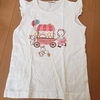 familiar - ファミリア リアちゃんTシャツ 120