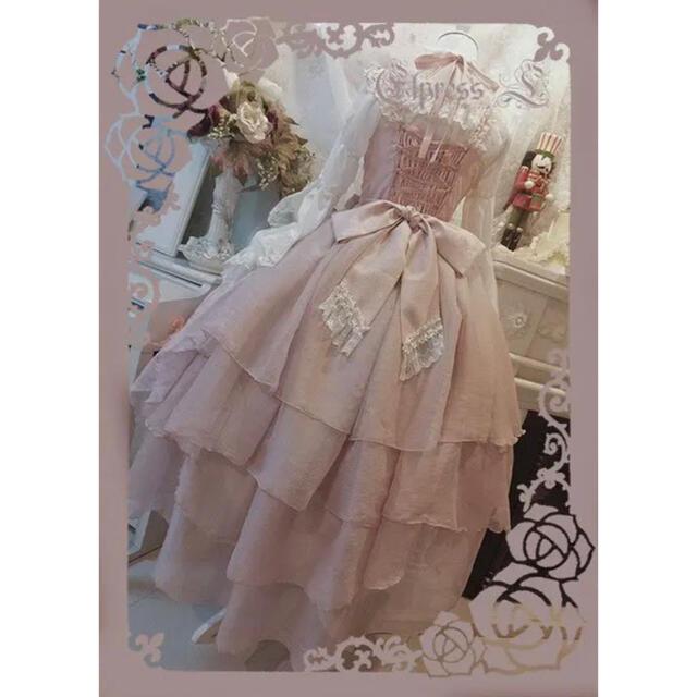 ALICE and the PIRATES(アリスアンドザパイレーツ)のelpress l ロリィタ ドレス レディースのワンピース(ひざ丈ワンピース)の商品写真