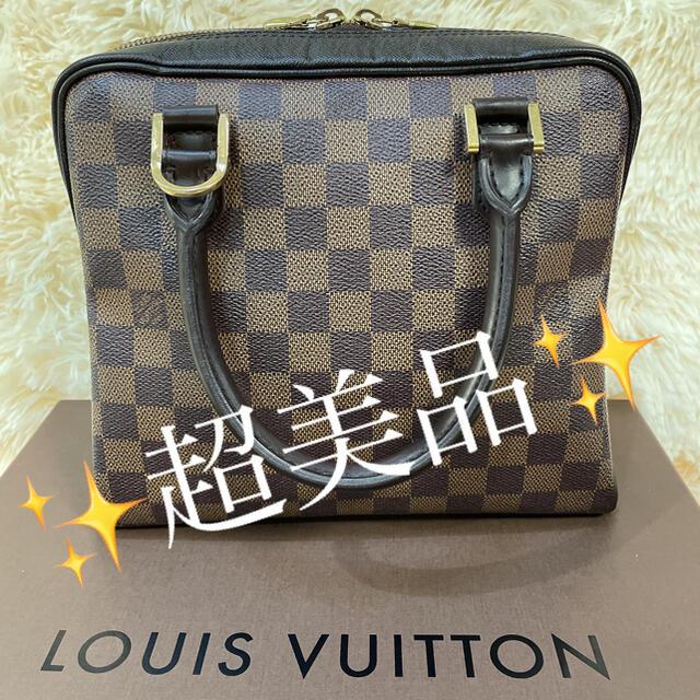 LOUIS VUITTON(ルイヴィトン)の超美品!ルイヴィトン ダミエ エベヌ ブレラ 本物 正規品 レディースのバッグ(ハンドバッグ)の商品写真
