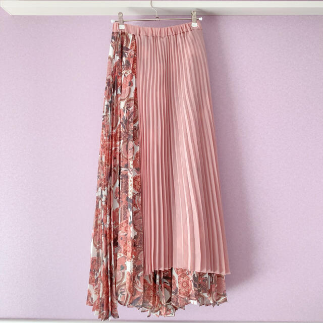 eimy istoire(エイミーイストワール)のエイミーイストワール プリーツスカート レディースのスカート(ロングスカート)の商品写真