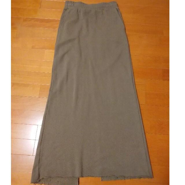 L'Appartement DEUXIEME CLASSE(アパルトモンドゥーズィエムクラス)のAPstudio スエットロングスカート☆ レディースのスカート(ロングスカート)の商品写真