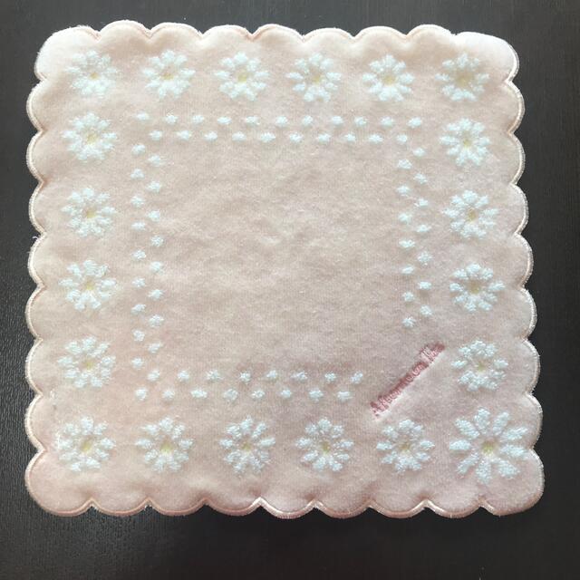 AfternoonTea(アフタヌーンティー)の新品 アフタヌーンティー サザビー ハンドタオル セット ピンク 花 ネコ 春 レディースのファッション小物(ハンカチ)の商品写真