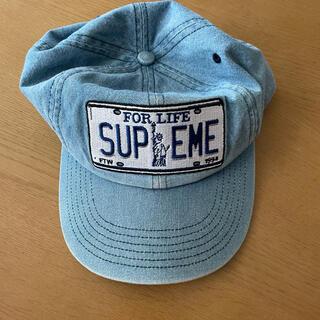 Supreme - シュプリーム License Plate キャップ