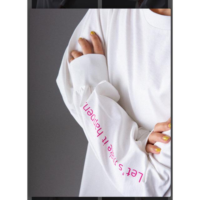 T.japan スタンダードプリントスリーブtee 最終お値下げ レディースのトップス(カットソー(長袖/七分))の商品写真