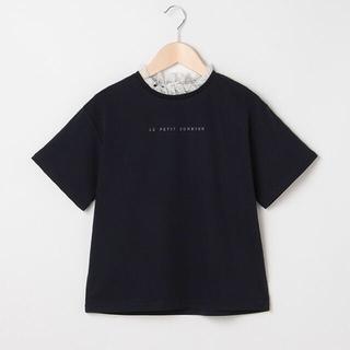 ポンポネット(pom ponette)のポンポネット新品新作タグ付きフリル衿シルケット半袖Tシャツ150、160(Tシャツ/カットソー)
