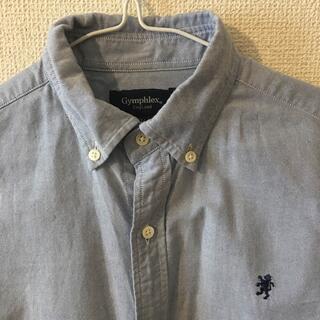 GYMPHLEX - gymphlexシャツ チュニック丈 ブルー