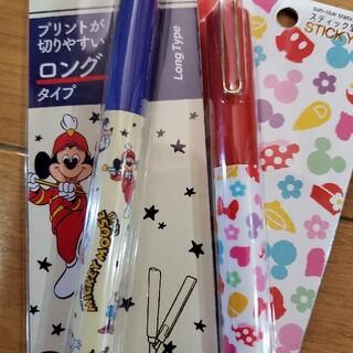 ディズニー(Disney)のディズニー ミッキー スティック型 携帯はさみ(はさみ/カッター)