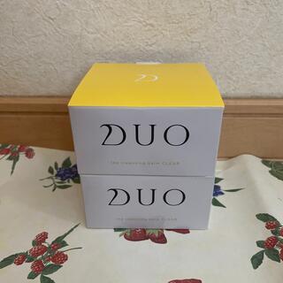 DUO クレンジングバーム クリア90g×2個