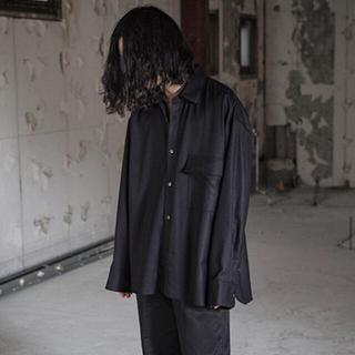 SUNSEA - stein 19aw Oversized Down Pat Shirt