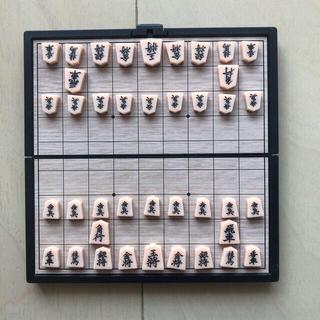 ポータブル将棋セットとX LARGEレザー財布(囲碁/将棋)