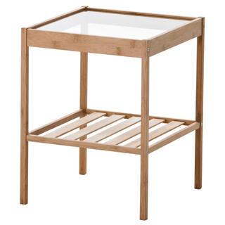 イケア(IKEA)のIKEA NESNA ネスナ ベッドサイドテーブル(コーヒーテーブル/サイドテーブル)