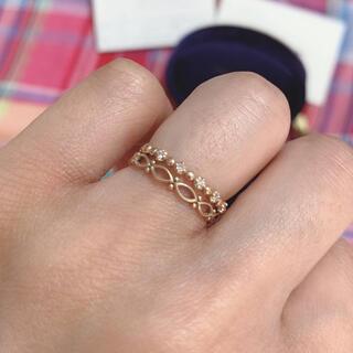 ヴァンドームアオヤマ(Vendome Aoyama)のヴァンドーム青山 イエローゴールドダイヤ リングセット(リング(指輪))