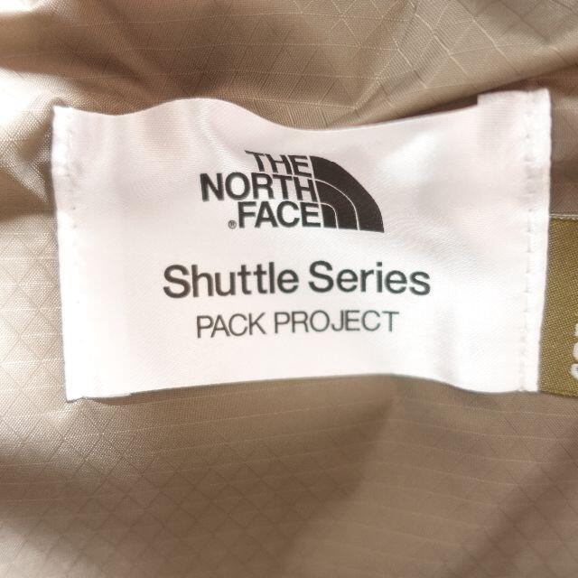 THE NORTH FACE(ザノースフェイス)のnorthface shuttledaypack sun ユニセックス ベージュ メンズのバッグ(バッグパック/リュック)の商品写真