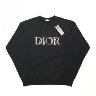 Christian Dior - 新品 21SS DIOR FLOWERS ロゴ オーバーサイズ スウェット